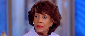 Maxine Waters Won't Rule Out All-Black Party [VIDEO]
