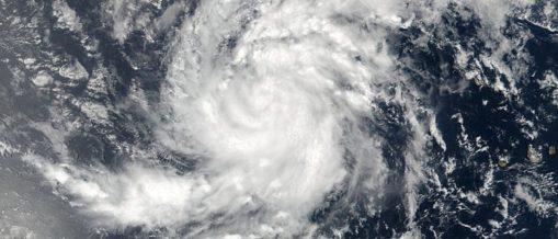 Satellite image of Tropical Storm Irma pictured here in the Eastern Atlantic Ocean on August 30, 2017. NASA/NOAA /Goddard Rapid Response Team/Handout via REUTERS
