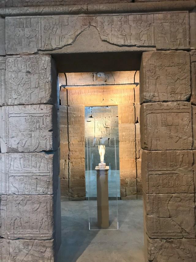 Inside the Temple of Dendur. (DCNF/Ethan Barton)