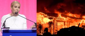 Chelsea Handler Forced To Flee Burning Mansion — Blames President Trump For Wildfires
