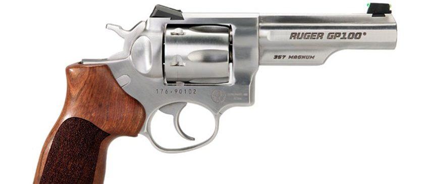 Gun Test Ruger Gp100 Match Champion Revolver