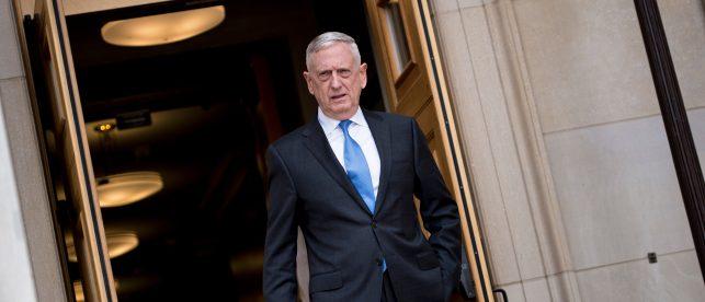 Sec. Mattis: 'All's Quiet' In The North Korean Military