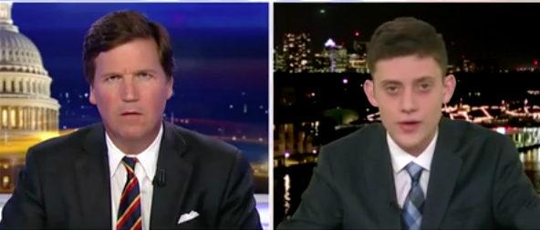 Kashuv Carlson Fox News screenshot e