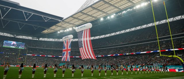 FILE PHOTO: General view before the game between the Miami Dolphins and the New Orleans Saints at Wembley Stadium in London, on October 1, 2017. (Photo: Action Images via Reuters/Paul Childs)