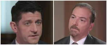 'I Just Don't See It Like That' — Paul Ryan Smacks Down Chuck Todd