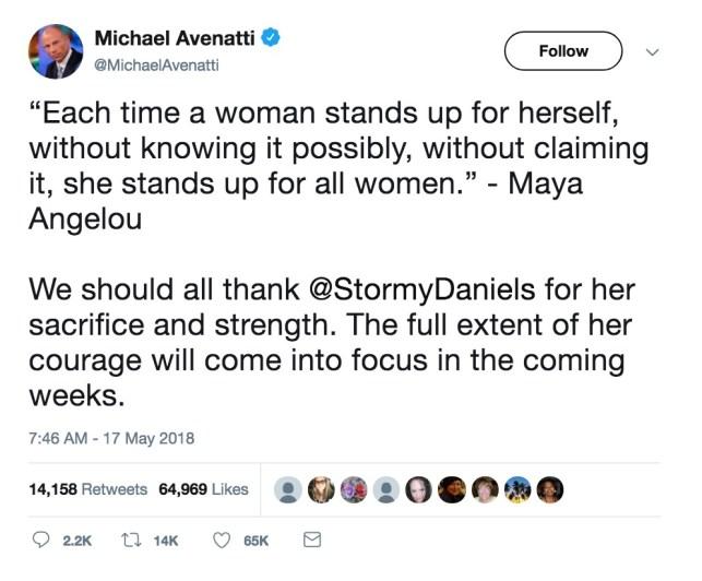 Michael Avenatti's Wife Swore In Court That He's 'Emotionally Abusive'