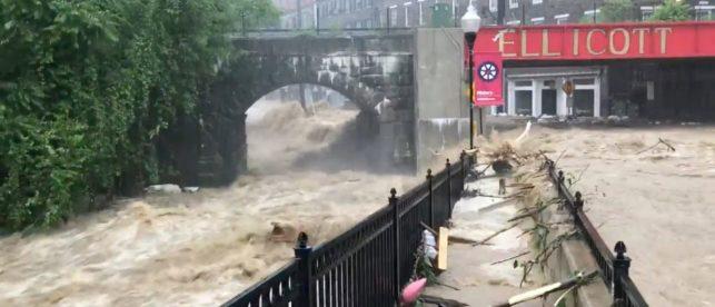 Ellicott City Flooding e