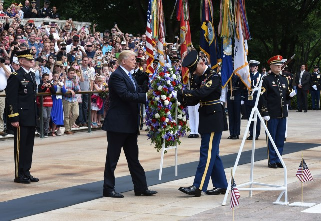WATCH: A Memorial Day Message From The Men Who Guard The Tomb Of The Unknown Soldier
