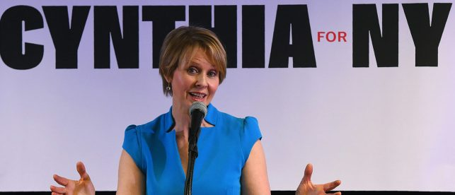 'We Must Eradicate Them': Cynthia Nixon Calls For Dismantling Of Immigration Agency