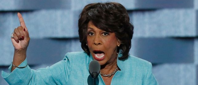 Maxine Waters Sounds Off On Impeaching … Mike Pence — 'You Knock One Down, And Then We Go After Him Too'