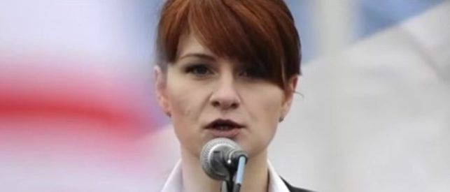 Russian Gov't Claims Maria Butina Is A 'Political Prisoner'