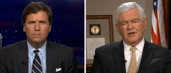 Newt Gingrich Tells Tucker Why Republicans Refuse To Stop Democrats On Immigration — 'They Lose Their Nerve'