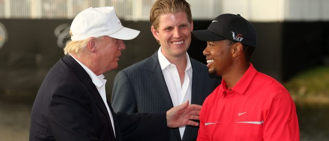 'Did You See The Fake News Try To Fake Out Tiger?' — President Trump Lauds Tiger Woods, Disses Media In One Shot