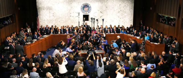Senate Democrats Mulled Walkout Of The Kavanaugh Hearing