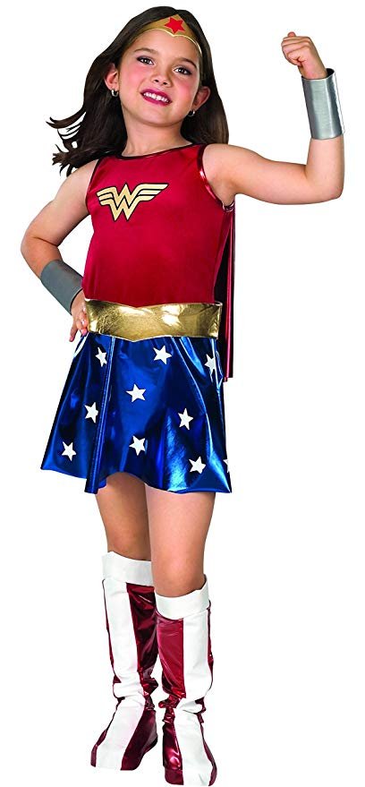 Normally $40, this Wonder Woman costume is 51 percent off today (Photo via Amazon)