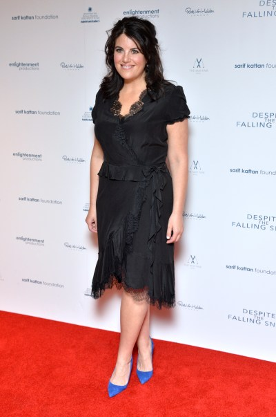 Monica Lewinsky Reveals What She Thought The Stain On Her ...