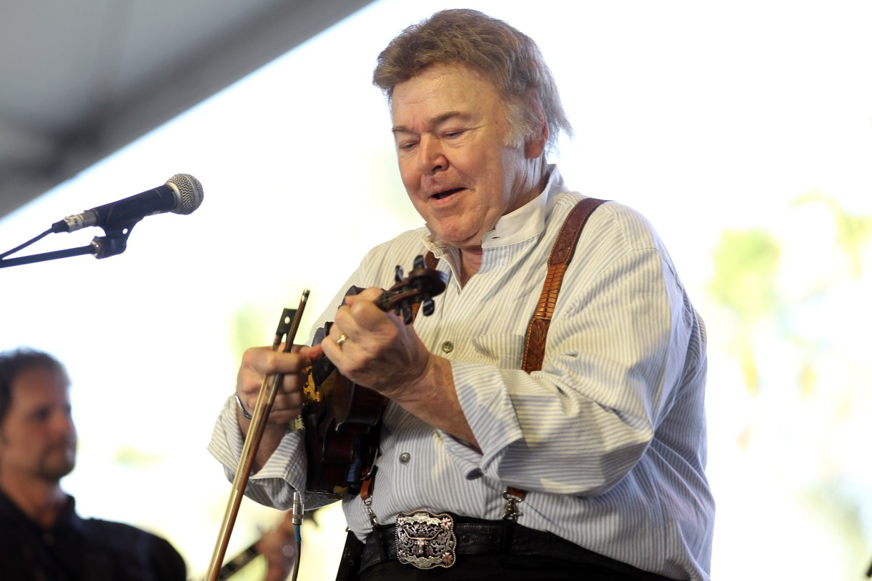 Musician Roy Clark performs onstage during the Stagecoach Country Music Festival held at the Empire Polo Field on April 29, 2012 in Indio, California. (Photo by Karl Walter/Getty Images for Stagecoach)