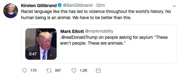 Sen. Kirsten Gillibrand (Twitter Screenshot)