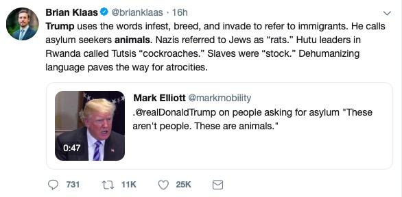 Brian Klaas (Twitter Screenshot)