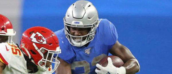 REPORT: Kerryon Johnson Will Miss Games With Knee Injury