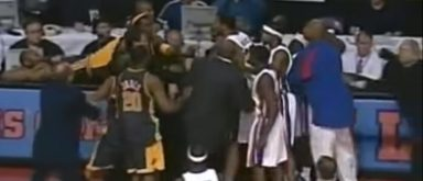 Today Marks The 15th Anniversary Of The Malice In The Palace Brawl Between The Pistons And Pacers