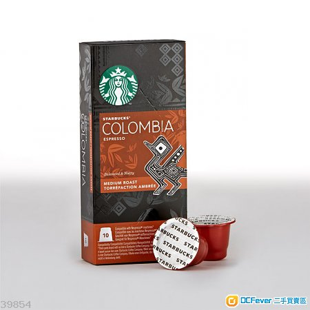 出售 [#2] Nespresso Starbucks 星巴克咖啡膠囊 - Colombia Espresso 哥倫比亞濃縮咖啡 - DCFever.com