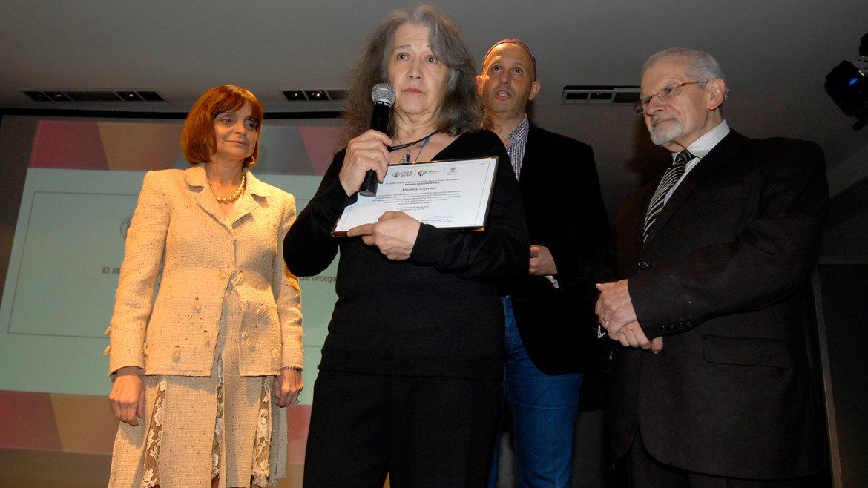 Argerich también fue distinguida por hacer de su excelencia artística una expresión espiritual de lo humano, afianzando el amor fraternal en la convivencia y dando testimonio con su talento de ser nuestra embajadora en el valor universal de la paz