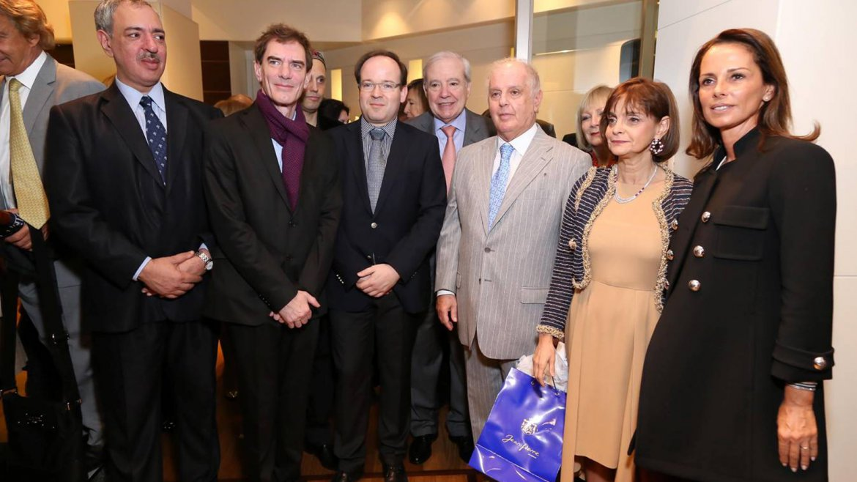 Omar Abboud, Darío Lopérfido, Sergio Bergman, Tabaré Perlas, Jorge Enríquez, Daniel Barenboim, Claudia Stad y Nathalie Sielecki