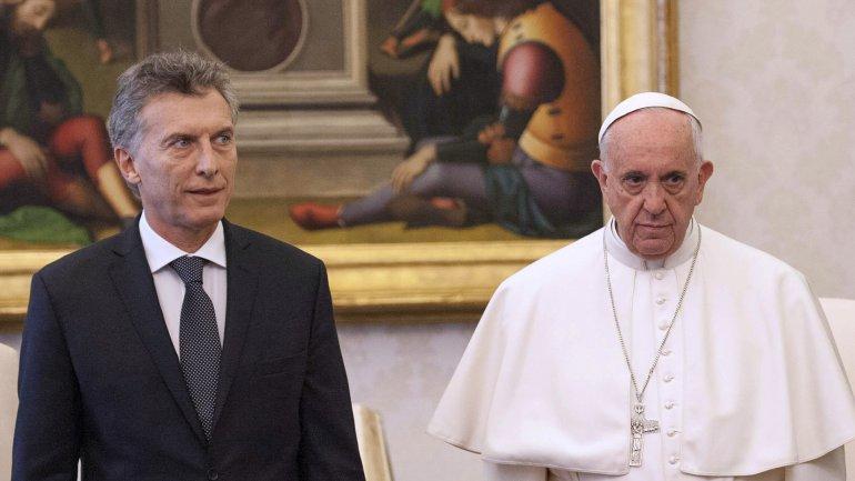El papa Francisco no le dedicó ni siquiera una sonrisa a Mauricio Macri