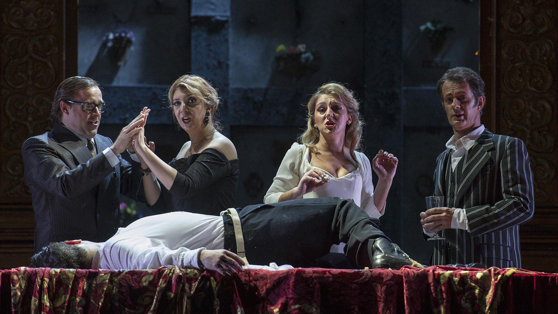 Don Giovanni es una obra cargada de comicidad y, a la vez, atravesada por la tragedia