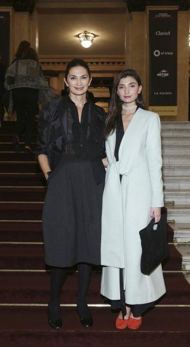 Mariana Arias y Paloma Cepeda