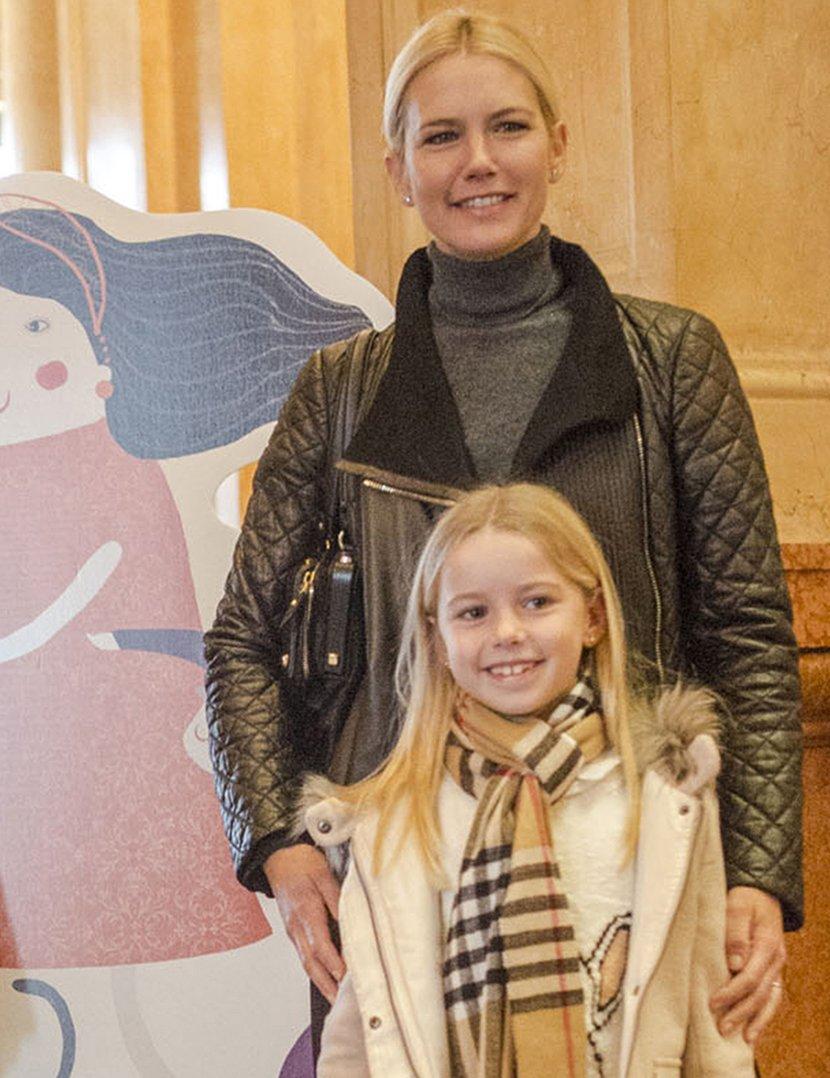 Valeria Mazza y su hija Taína Gravier