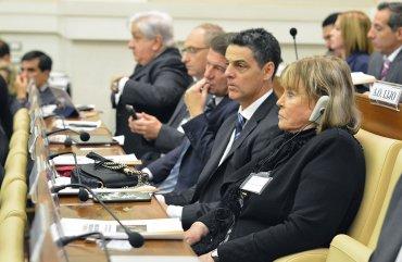 Jueza federal María Servini de Cubría junto al fiscal Marcelo Colombo