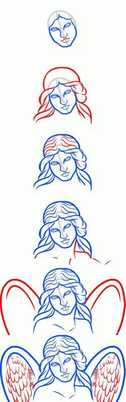 چگونه یاد بگیرند که چگونه فرشتگان زیبا را قرعه کشی کنند