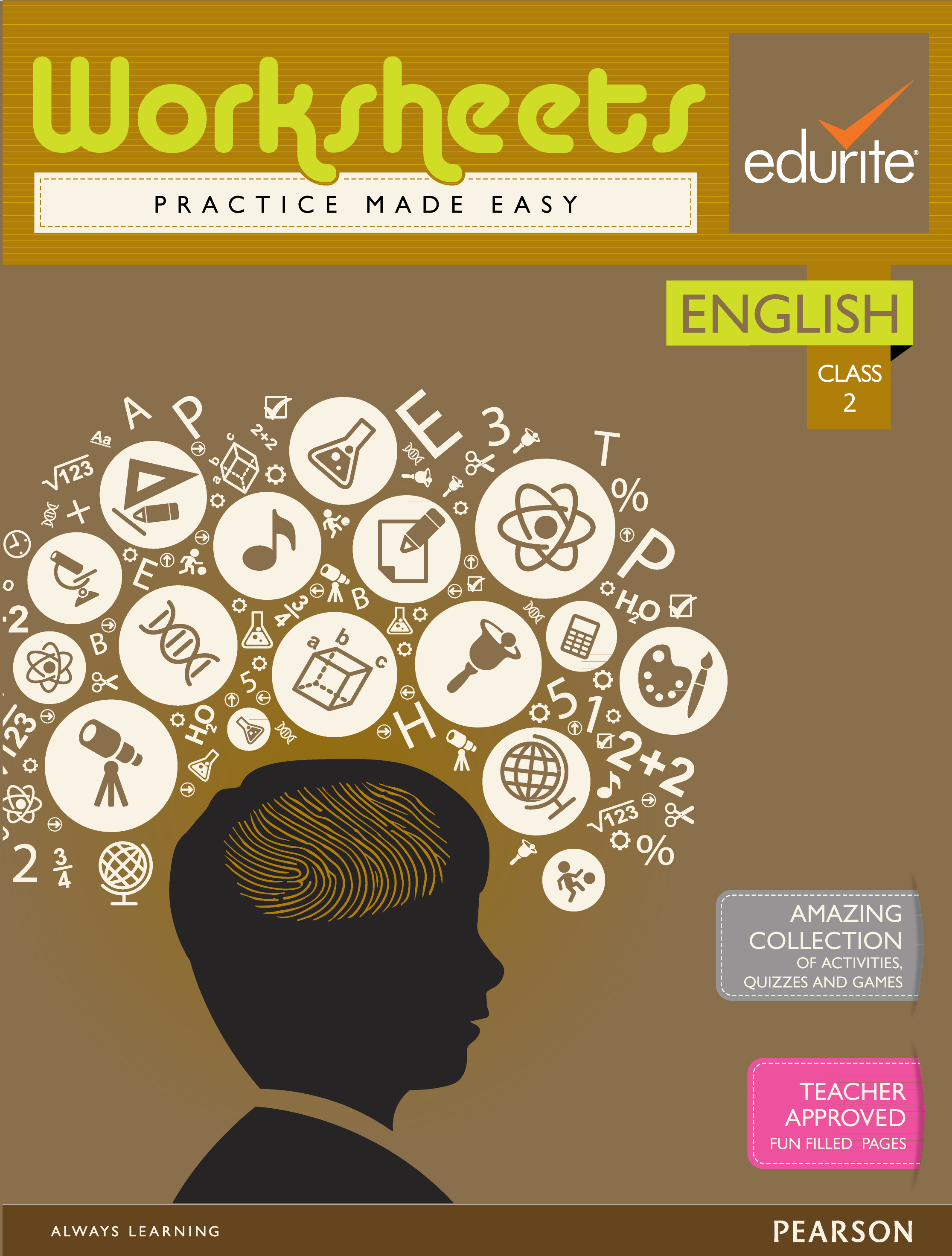 Buy Edurite Class 3 English Worksheets Book Edurite