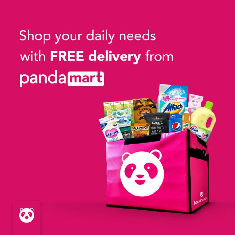 Sites to buy groceries online in Singapore: pandamart