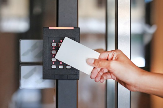 keycard entry system office