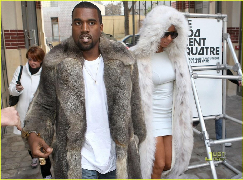 Amakoti ya Kanye West akoze mu bwoya bw'amatungo