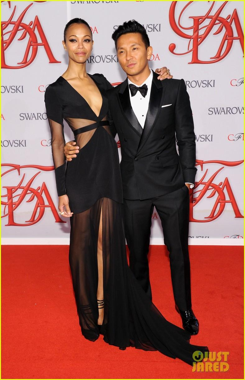 zoe saldana cfda fashion awards 2012 05