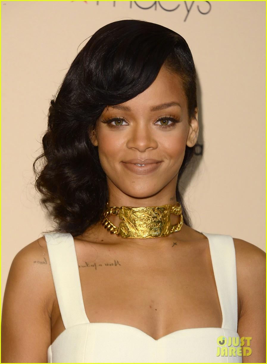 Rihanna Nude By Rihanna Fragrance Launch Photo