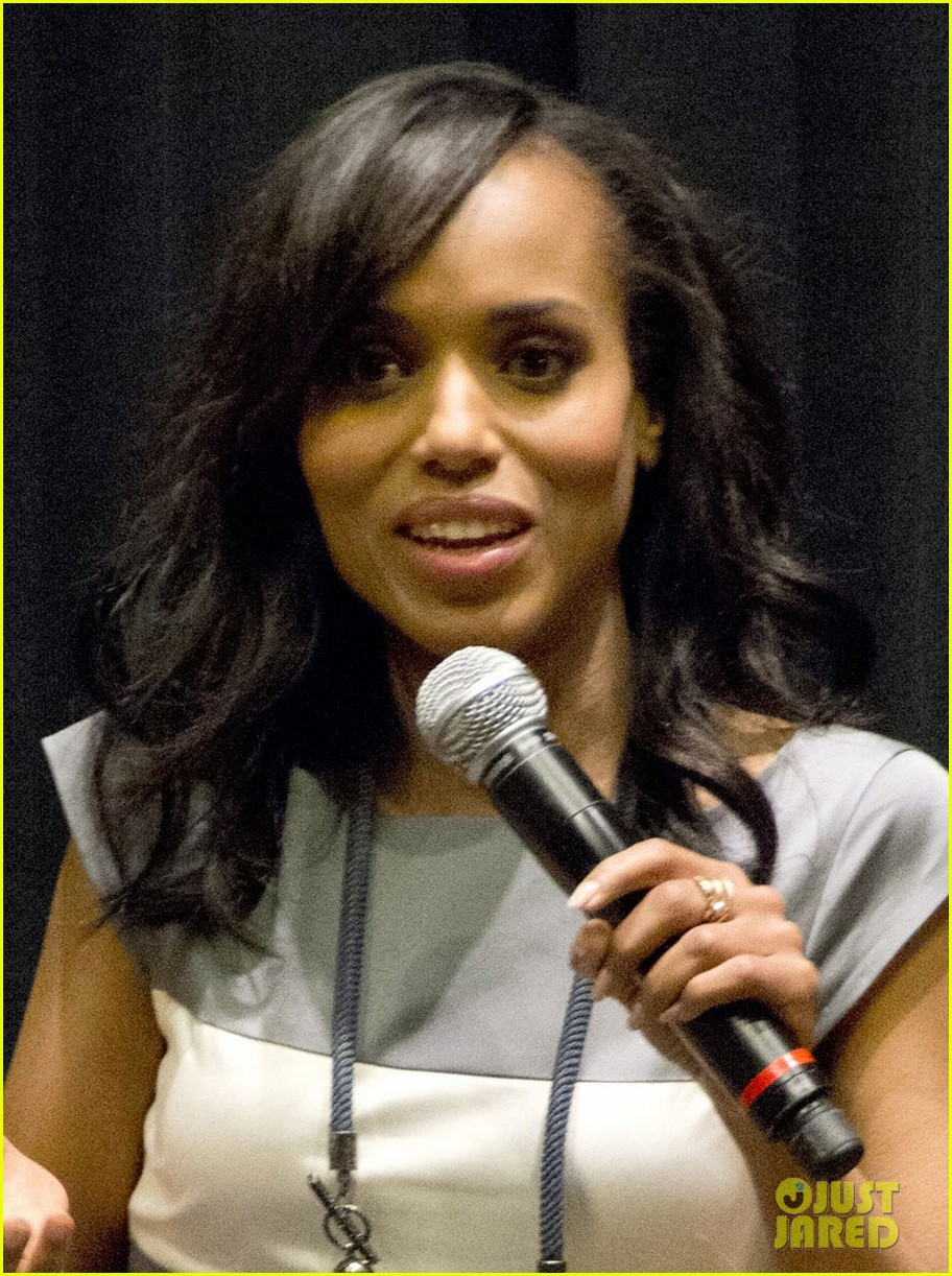 kerry washington peeples screening at festival of books 02