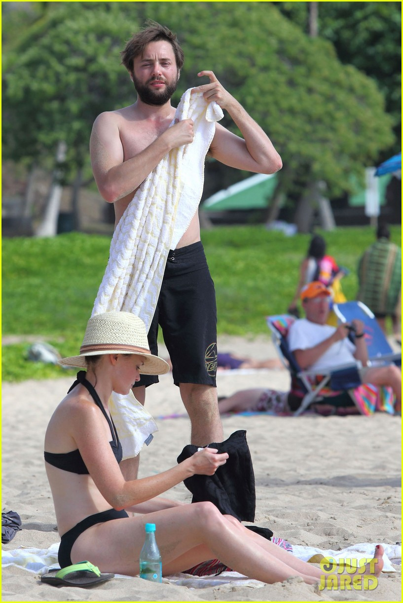 Alexis Bledel Bikini Vacation With Shirtless Vincent