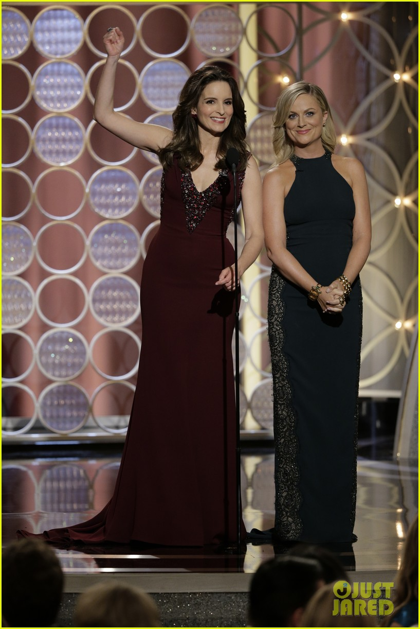 Tina Fey & Amy Poehler | Golden Globes 2013 Best Dressed | The 1000th Voice blog