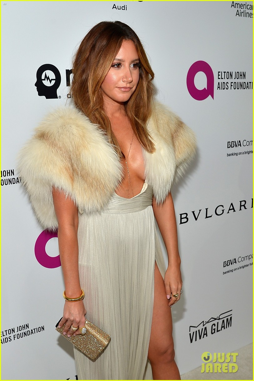 Ashley Tisdale Amp Holland Roden Party It Up After Oscars