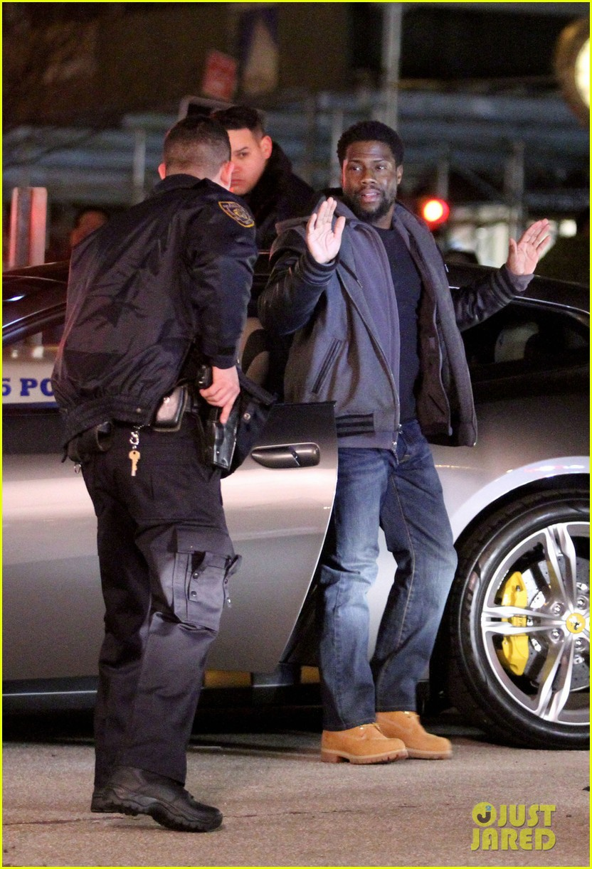 Kevin Hart Gets Arrested Bryan Cranston Sports Fake Beard