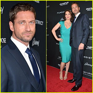 Gerard Butler Olympus Has Fallen Hollywood Premiere