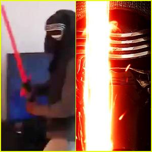 Star Wars' John Boyega Dressed Up as Kylo Ren This Weekend - Watch Now!