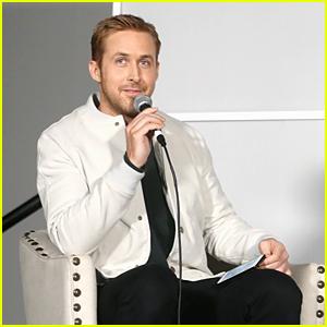 Ryan Gosling Moderates 'Neon Demon' Panel - Watch!