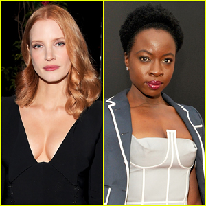 Jessica Chastain Teaming Up With 'Walking Dead' Star Danai Gurira On Elephant Poaching Drama!