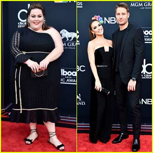 Chrissy Metz & Justin Hartley Arrive in Style for ...